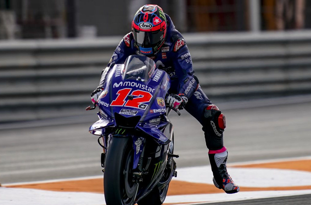 Post Season Motogp Valencia Test Ends With Vinales On Top