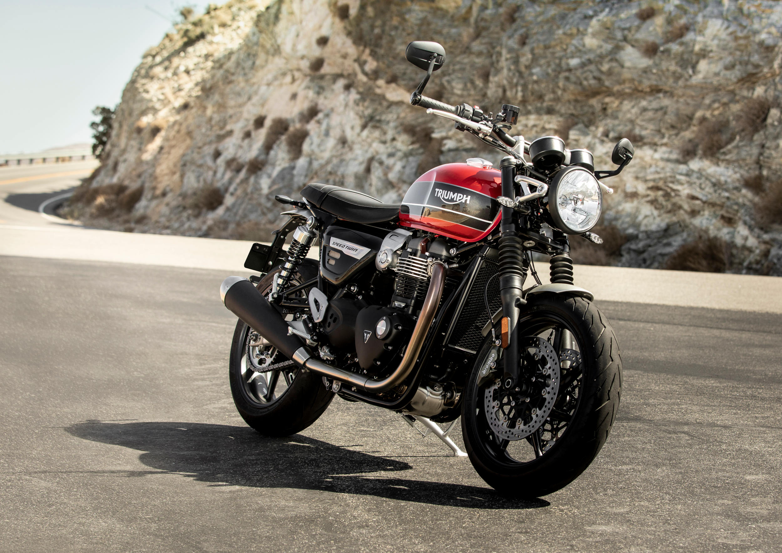 Triumph Unveils 2019 Speed Twin With Video Motorcycledailycom