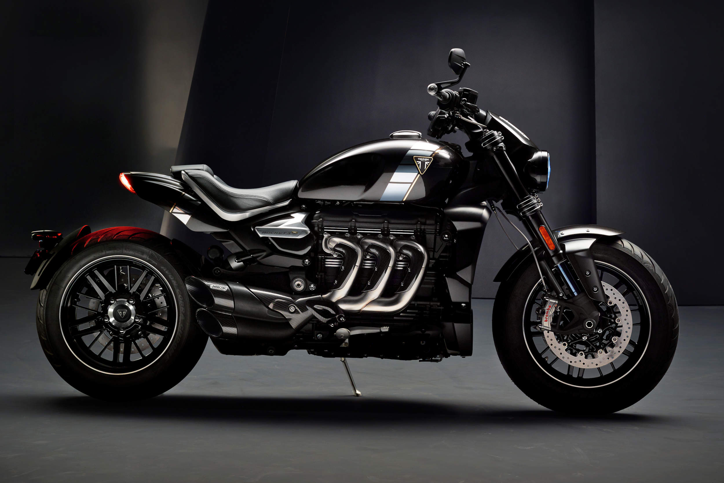 Triumph Officially Unveils Rocket 3 Tfc Motorcycledailycom