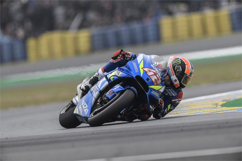 Alex Rins Salvages Top 10 Finish in Difficult French GP