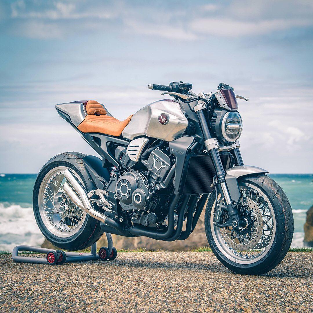 Honda Displaying Several Customized CB1000Rs at Wheels & Waves (Bike Reports) (News)
