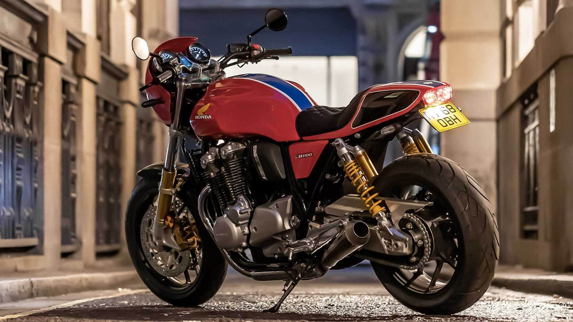 Honda UK Introduces Limited Edition CB1100 RS 5Four (Bike Reports) (News)