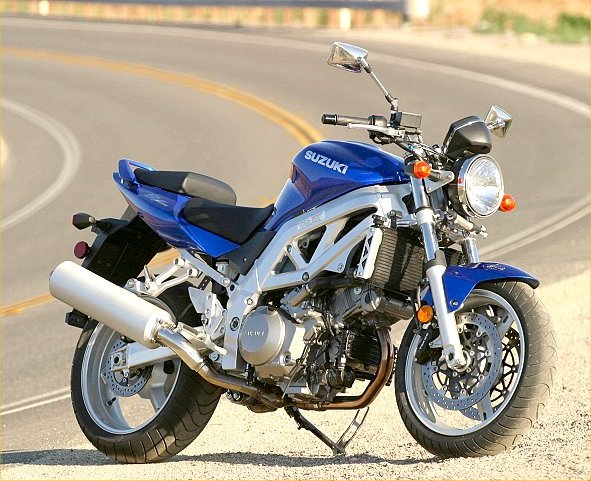 Goede Suzuki 2003 SV1000 Naked - MD Ride Review - MotorcycleDaily.com YX-93