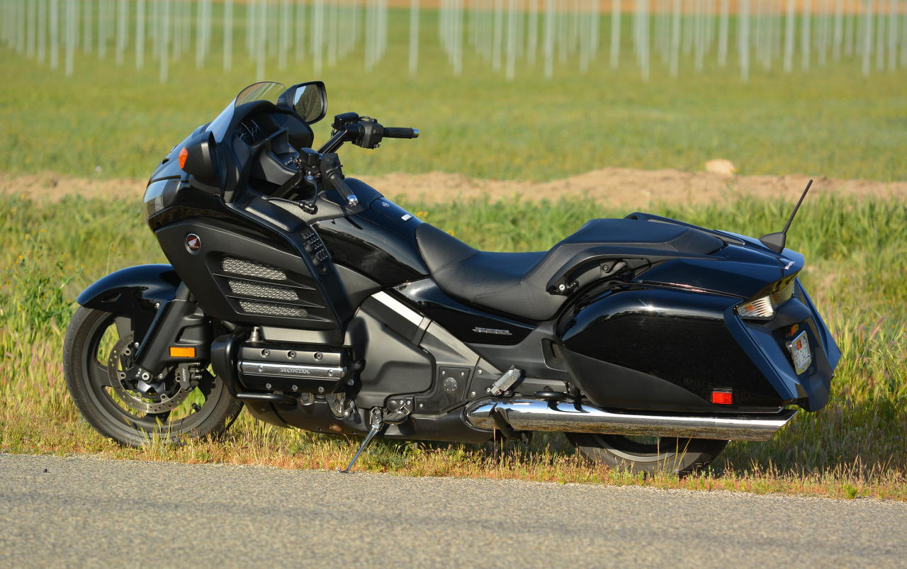 Md Ride Review 2013 Honda Gold Wing F6b 2003 Goldwing Gl1800 The