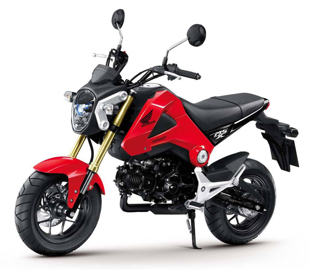 2014 Honda Forza And Grom Announced 1960s 50cc Bike No