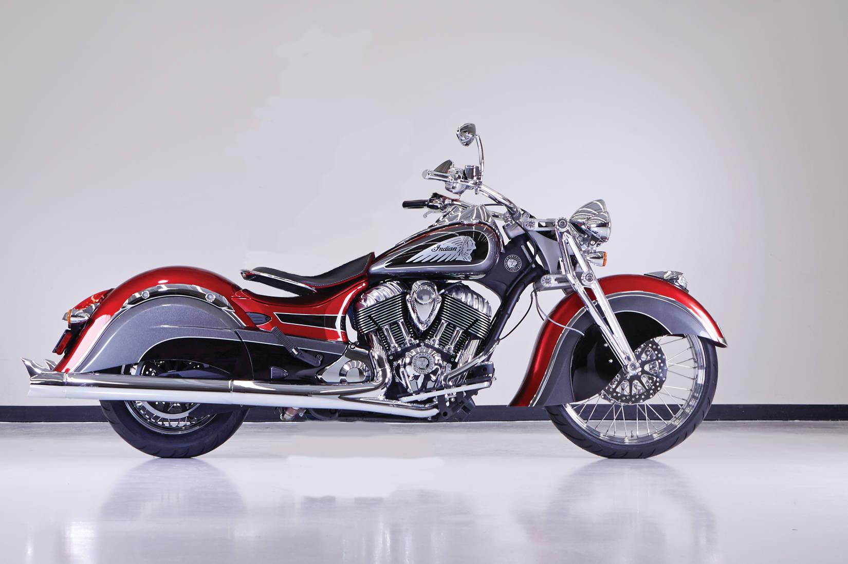indian big chief custom meets new york « motorcycledaily