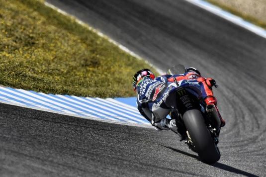 Movistar Yamaha Jerez GP Free Practice