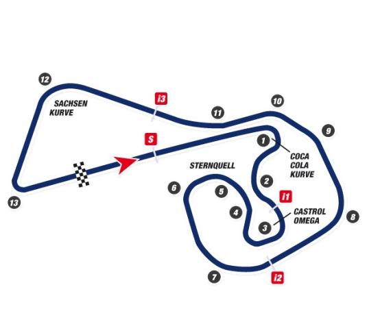2014 MotoGP, Sachsenring