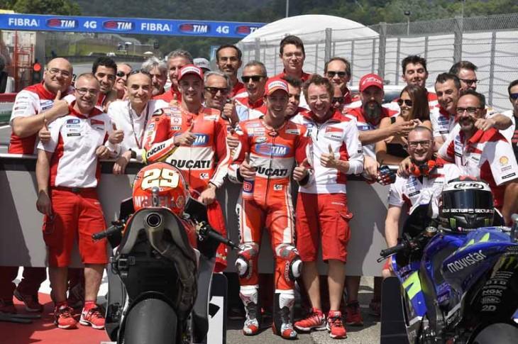 Ducati Team_Mugello MotoGP