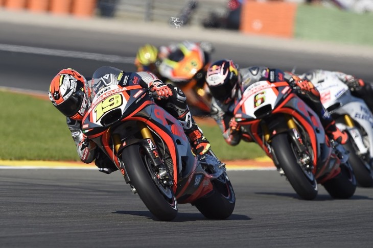 APRILIA RACING TEAM GRESINI - Valencia Grand Prix, Race_110815