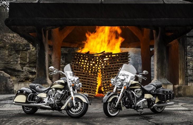 Indian Motorcycle - Custom Jack Daniels Bikes