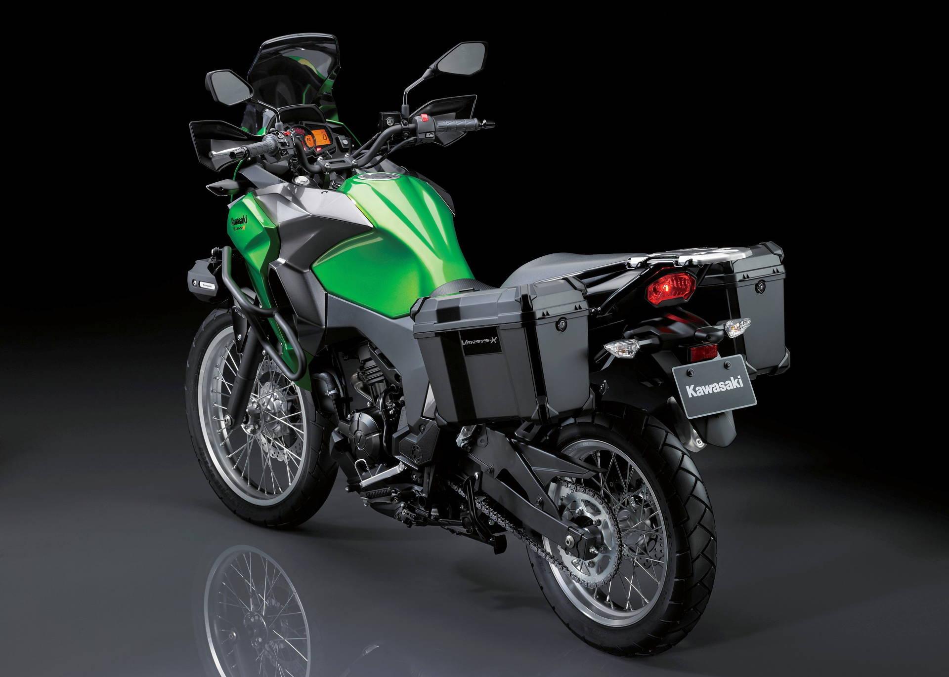 Kawasaki Versys X 300 Available Spring 2017 Beginning At