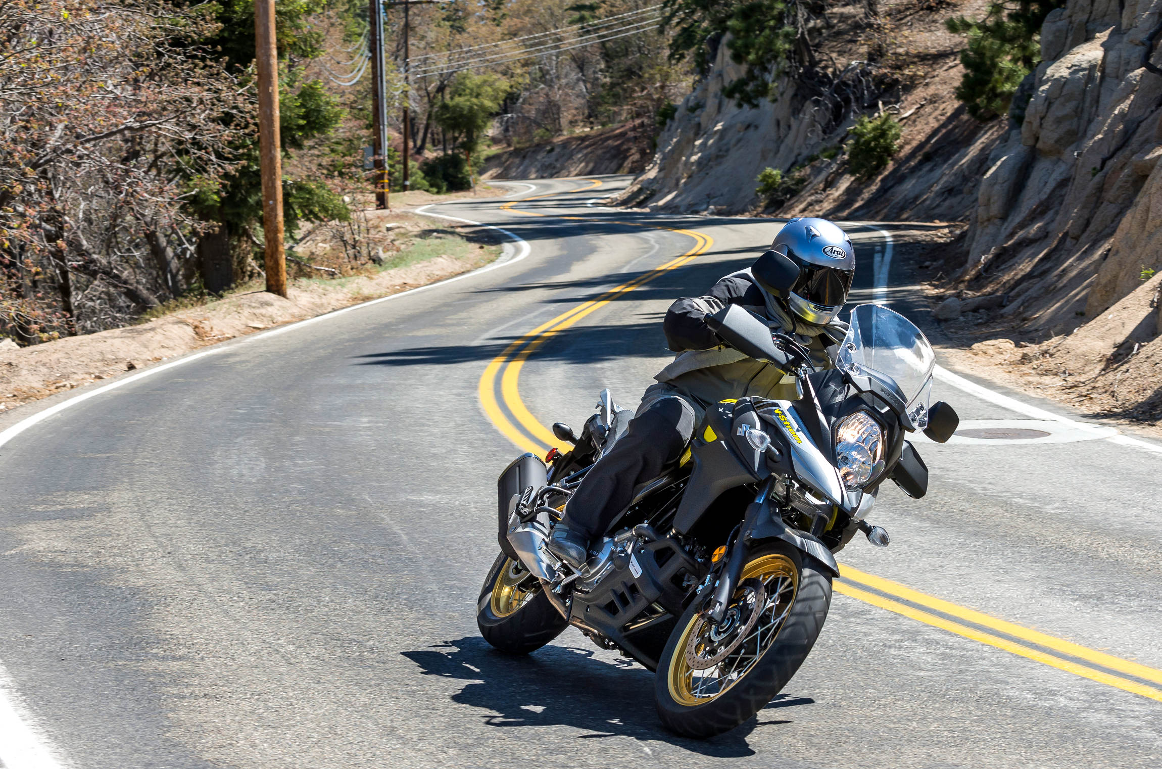 Ken 1 12 By Strom 2017 Suzuki V 650 And 650xt Md First Ride Motorcycledaily